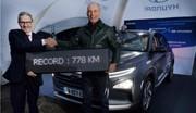 Le Hyundai Nexo bat le record d'autonomie pour une voiture hydrogène