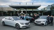 Mercedes a produit la 500 000e Classe S