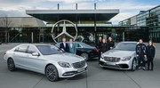 Mercedes Classe S : un tiers de la production vendue en Chine