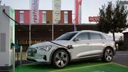 Audi e-tron: premières optimisations
