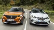 Essai comparatif : le Peugeot 2008 (2020) défie le Renault Captur