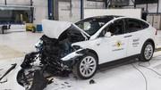 Euro NCAP : cinq étoiles pour les Model X, Taycan, Captur et bien d'autres