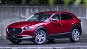 Mazda CX-30 : 5 étoiles et une bonne moyenne aux tests Euro NCAP