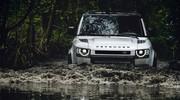 Land Rover travaille sur un Baby-Defender et sur un tout-terrain de luxe
