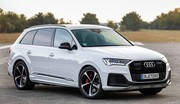 Audi Q7 : l'hybride rechargeable à 64 gr CO2