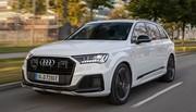 Deux versions hybrides rechargeables essence pour l'Audi Q7