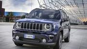 Jeep prépare un mini Renegade
