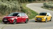 Essai comparatif : l'Opel Corsa GS Line défie la Peugeot 208 GT Line