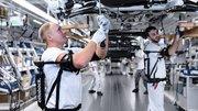 Des exosquelettes testés avec des ouvriers Audi