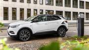 Opel Grandland X : deuxième version hybride rechargeable