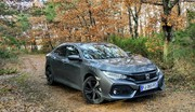 Essai Honda Civic 1.0 CVT : Une agressivité contenue !