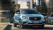 MG ZS EV : le SUV électrique arrive en Belgique