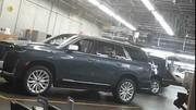 Un énorme écran panoramique pour le nouveau Cadillac Escalade