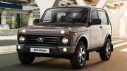 Le Lada Niva a maintenant DEUX porte-gobelet