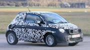 La future Fiat 500 électrique débusquée