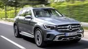 Essai mesuré du Mercedes GLC 220d restylé (2019)