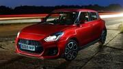 La Suzuki Swift Sport passe à l'hybride