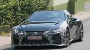 Lexus officialise (presque) un V8 biturbo pour la LC F