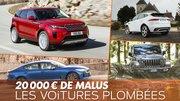 Le malus de 20 000 € vont faire mal au marché automobile en 2020