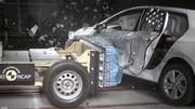 Volkswagen Golf 8 : 5 étoiles EuroNCAP avec la porte arrière ouverte !