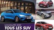 [Calendrier] Tous les nouveaux SUV attendus en 2020