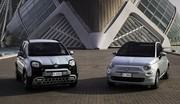 Les Fiat 500 et Panda passent à l'hybridation légère