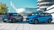 BMW apporte l'hybridation aux X1 et X2