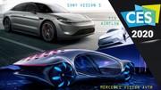 CES Las Vegas 2020 : les nouveautés auto