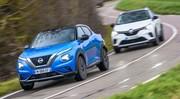 Essai comparatif : le Nissan Juke 2 défie le Renault Captur 2
