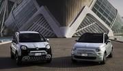 Fiat Panda et 500 en version hybride