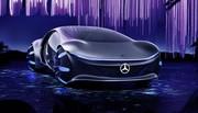 La Mercedes Vision AVTR du CES 2020 n'est clairement pas la prochaine Classe-S