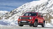 Jeep Renegade Quiksilver série spéciale « Hiver »