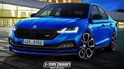 Skoda Octavia RS (2020) : une future sportive hybride rechargeable
