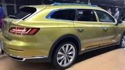 Future Volkswagen Arteon Shooting Brake : premières photos volées