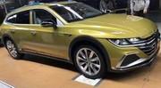 Volkswagen Arteon Shooting Brake, les premières fuites
