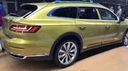 Volkswagen Arteon Shooting Brake (2020) : les premières images