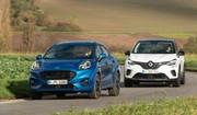 Essai comparatif : le Ford Puma défie le Renault Captur 2