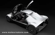 Venturi Volage : la carrosserie ne cache que les batteries, pas les moteurs