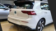 Voici la nouvelle VW Golf 8 GTI toute nue !