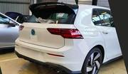 Volkswagen Golf 8 GTI : la première photo sans camouflage