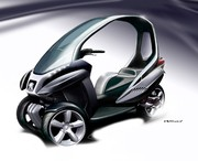 Peugeot HYmotion3 Compressor concept : Le caméléon