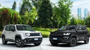 Jeep Renegade et Compass hybrides rechargeables : prix dès 40 900 €