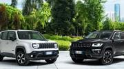 Jeep Renegade et Compass hybrides rechargeables : premiers prix dévoilés
