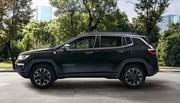 Une prise pour les Jeep Renegade et Compass 4xe hybrides