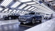 Audi va réduire la production des e-tron à l'usine de Bruxelles