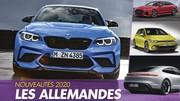 [Calendrier] Les nouvelles voitures allemandes qui arrivent en 2020