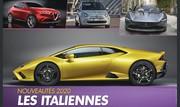 [Calendrier] Les nouvelles voitures italiennes qui arrivent en 2020