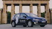 Des Volkswagen électriques en autopartage à Paris dès 2020