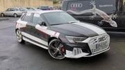 La nouvelle Audi S3 photographiée dans un parking