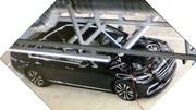 Future Mercedes Classe S : Première photo sans camouflage